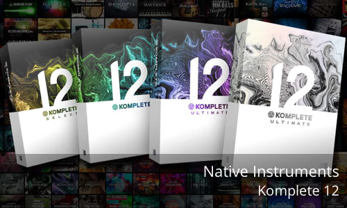 Native Instruments Maschine Komplete 12